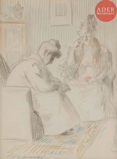 HERMANN-PAUL (1864-1940) LA BELLE-MÈRE, 1907...