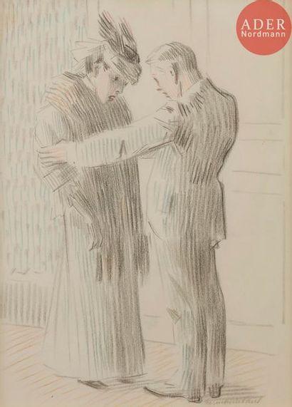 HERMANN-PAUL (1864-1940) LA MAîTRESSE, 1907...
