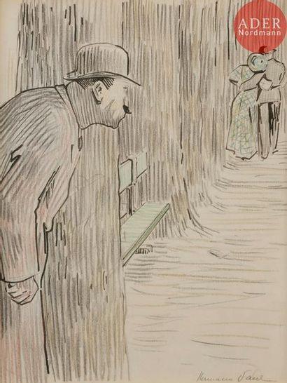 HERMANN-PAUL (1864-1940) LE MOUCHARD, 1907...