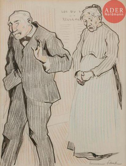 HERMANN-PAUL (1864-1940) LE PATRON, 1907...