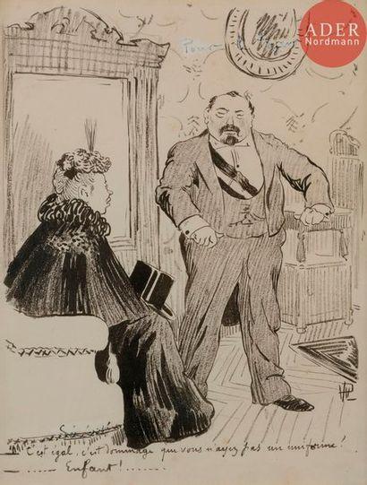HERMANN-PAUL (1864-1940) POUR LE TZAR !,...