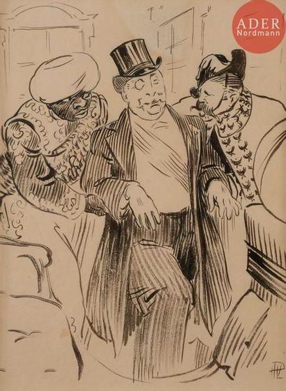 HERMANN-PAUL (1864-1940) SARDANAPALE, 1897...