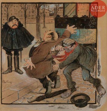 Abel FAIVRE (1867-1945) à MON SECOURS !,...