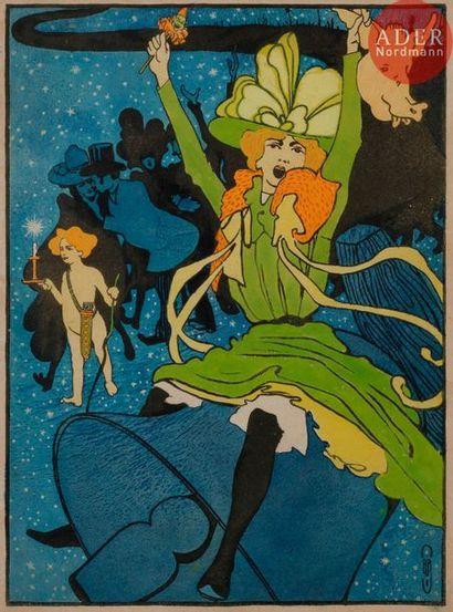 Auguste ROUBILLE (1872-1955) L'éTOILE DE...