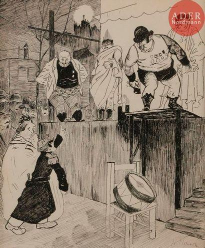 Henri MIRANDE (1877-1955) AVEC QUI VOUS VOULEZ...