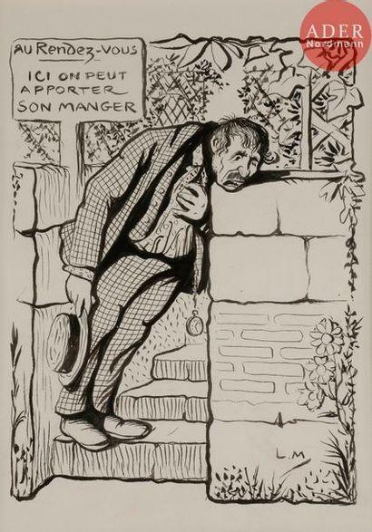Lucien METIVET (1863-1932) ICI ON PEUT APPORTER...