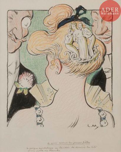 Lucien METIVET (1863-1932) à QUOI RÊVENT...
