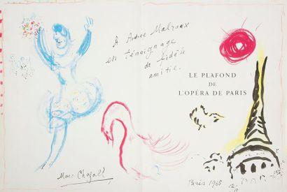 CHAGALL (Marc) - LASSAIGNE (Jacques). Le...