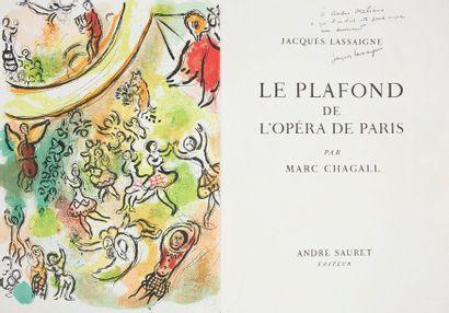 CHAGALL (Marc) - LASSAIGNE (Jacques). Le Plafond de l'opéra de Paris. Monte-Carlo...