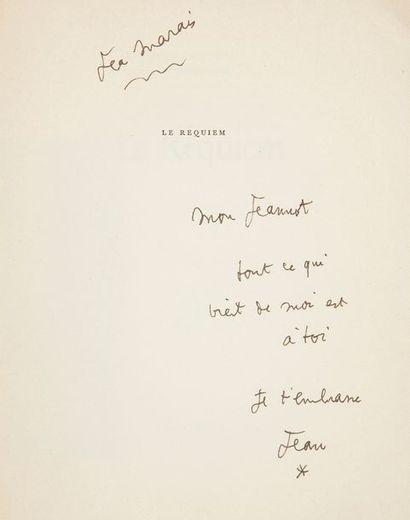 COCTEAU (Jean). Le Requiem. Paris : Gallimard,...