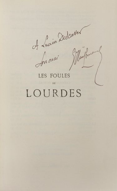 HUYSMANS (Joris-Karl). Les Foules de Lourdes....