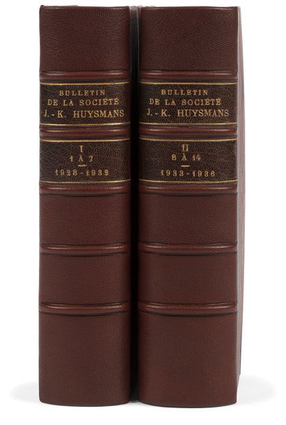 [HUYSMANS (Joris-Karl). Bulletin de la Société...