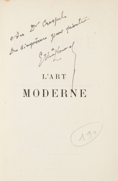 HUYSMANS (Joris-Karl). L'Art moderne. Paris:...