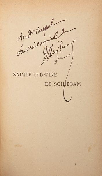 HUYSMANS (Joris-Karl). Sainte Lydwine de...