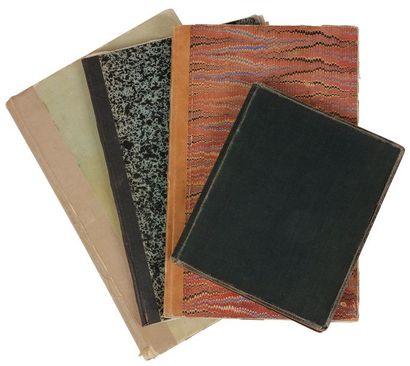 GIDE André (1869-1951). MANUSCRIT autographe, Les Caves du Vatican, [1911-1913];...