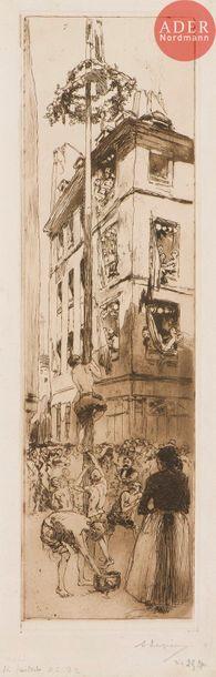 AUGUSTE LEPERE (1849-1918)