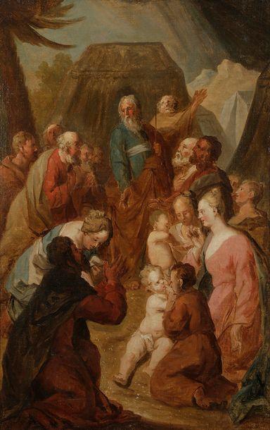 Attribué à Bernard Joseph WAMPS (1689 - vers...