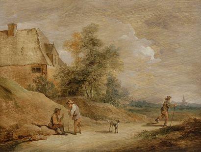 École FLAMANDE du XVIIIe siècle En bordure...