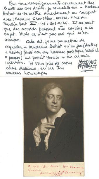 Jacques FAIZANT (1918-2006) dessinateur....