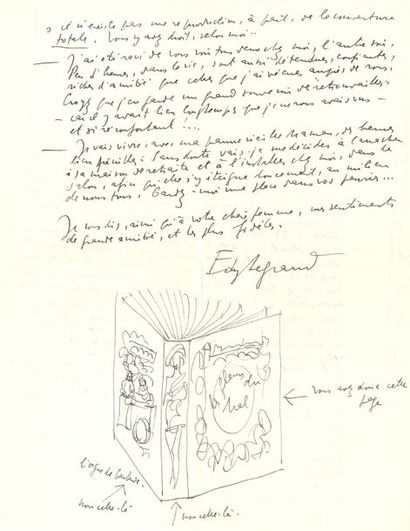 Edy LEGRAND (1892-1970) peintre et illustrateur....