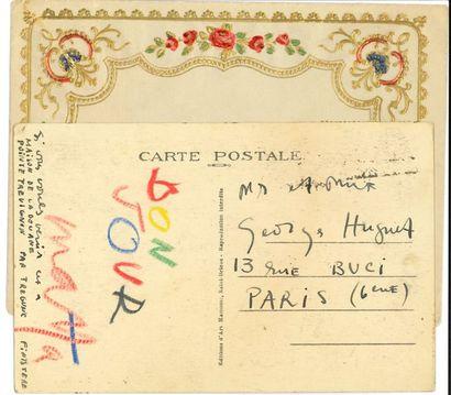 Roberto MATTA (1911-2002). Carte postale...