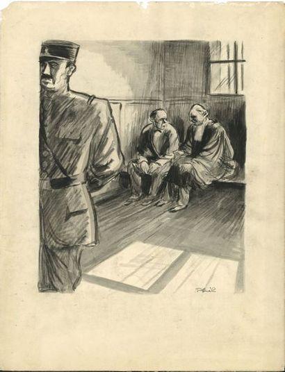 Philippe Larquier, dit PHIL (1905-1940) dessinateur...