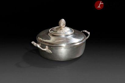 PARIS, 1783 - 1784 Légumier couvert en argent...