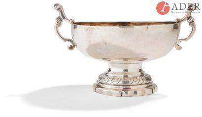 BEAUNE, ENTRE 1785 ET 1789 Coupe de mariage...