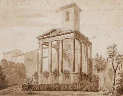 Louis BENOIS (1796-1873) La voie des Tombeaux...