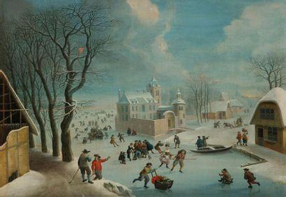 ÉCOLE HOLLANDAISE vers 1800, suiveur de Jan...