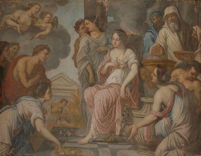 École Française vers 1640, entourage de Charles...