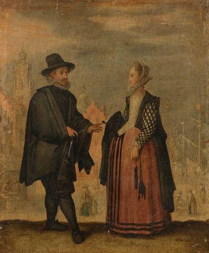 Attribué à Louis de CAULLERY (1575-1621)...