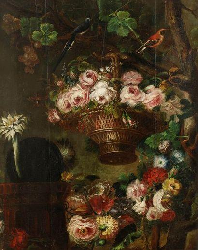 ÉCOLE Française vers 1820 Natures mortes...
