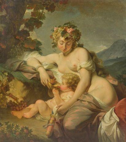 ÉCOLE ALLEMANDE du XVIIIe siècle L'Enfance...