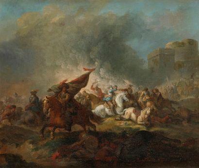 Attribué à Georg Philipp RUGENDAS (1666-1742)...