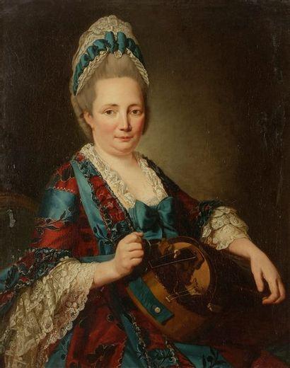 ÉCOLE FRANÇAISE vers 1770, entourage de Jean...