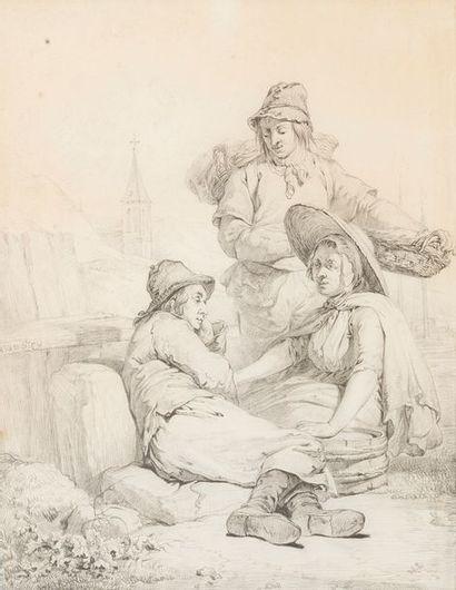 Abraham Van STRY (1753-1826) Repos des...