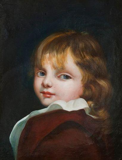 Dans le goût de Jean Baptiste GREUZE Enfant...
