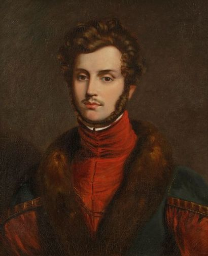 ÉCOLE Française vers 1830, entourage du baron...
