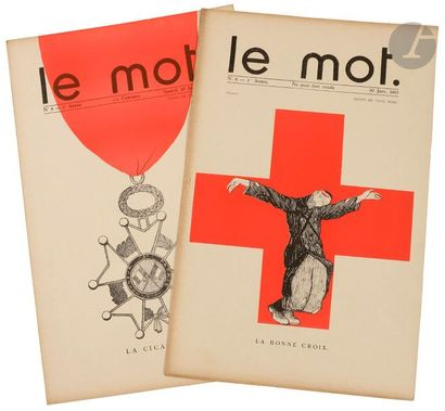 IRIBE (Jean) - COCTEAU (Jean). Le Mot. Paris,...