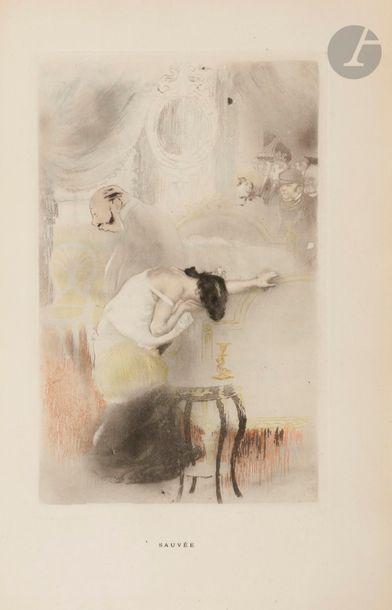 MAUPASSANT (Guy de). Cinq contes parisiens....
