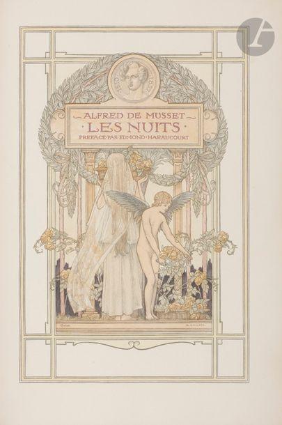 MUSSET (Alfred de). Les Nuits. La Nuit de...