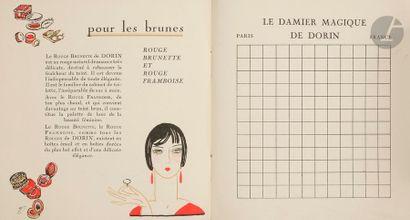 [PUBLICITÉ - MAISON DORIN]. Le Damier magique...