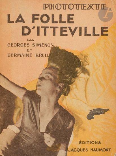 SIMENON (Georges) - KRULL (Germaine). La...