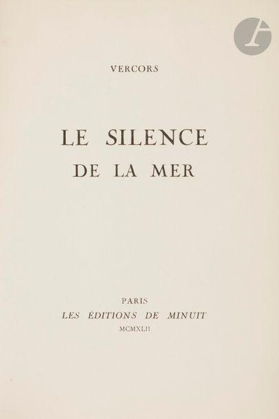 VERCORS. Le Silence de la mer. Paris : Éditions...