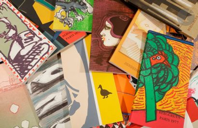 BERGGRUEN. Collection de 15 catalogues illustrés...