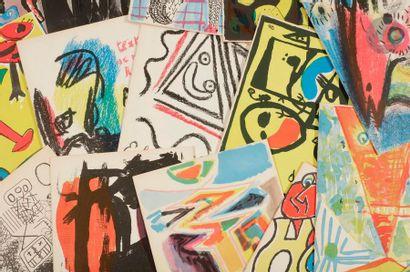 [COBRA]. Artistes libres. Première série...