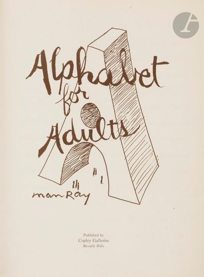 MAN RAY. Alphabet for Adults. Berverly Hills...