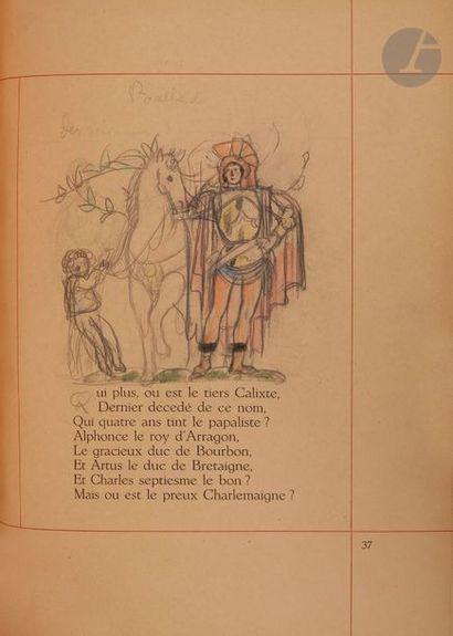 MARTIN (Charles) - VILLON (François). Le...