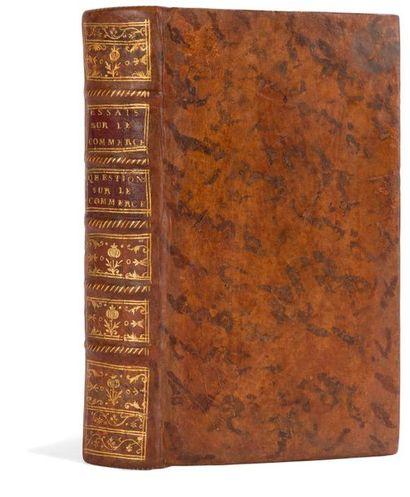 [CANTILLON (Richard)]. Essai sur la nature du commerce en général. Traduit de l'anglois....